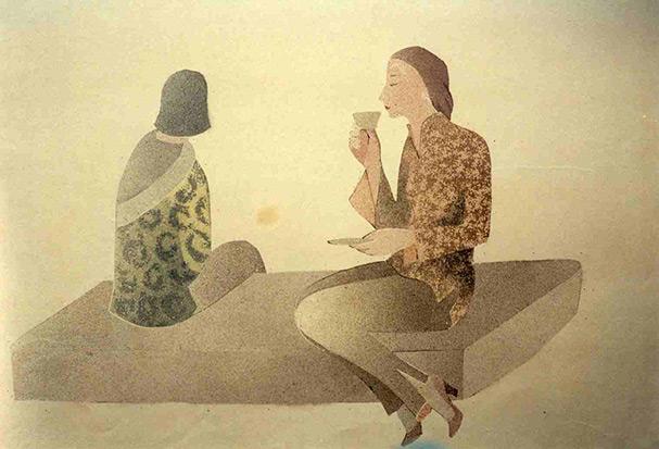 Die Teestunde, 1928